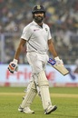 Rohit Sharma makes the long walk back, India v Bangladesh, 2nd Test, 1st day, Kolkata, November 22, 2019