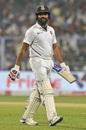 Rohit Sharma makes the long walk back, India v Bangladesh, 2nd Test, 1st day, Kolkata, November 22, 2019