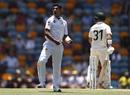 Naseem Shah celebrates his first Test wicket of David Warner, Australia v Pakistan, 1st Test, Brisbane, November 23, 2019