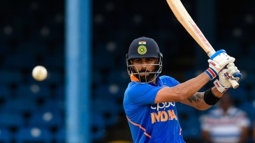 How does the average ODI featuring Virat Kohli today compare to one that featured Viv Richards?