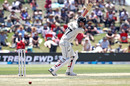 Colin de Grandhomme runs one down to third man, New Zealand v England, 1st Test, Mount Maunganui, 3rd day, November 23, 2019