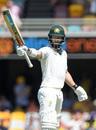 Matthew Wade acknowledges his half-century, Australia v Pakistan, 1st Test, Brisbane, November 23, 2019