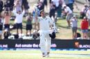 BJ Watling celebrates his eighth Test century, New Zealand v England, 1st Test, Mount Maunganui, 3rd day, November 23, 2019