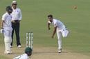 Taijul Islam tosses one up, India v Bangladesh, 2nd Test, Kolkata, 2nd day, November 23, 2019