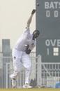 Jason Holder bowls, Afghanistan v West Indies, Only Test, 1st day, Lucknow, November 27, 2019