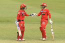 Danni Wyatt and Jess Duffin smashed half-centuries in the record chase, Brisbane Heat v Melbourne Renegades, WBBL 2019, Brisbane, November 27, 2019