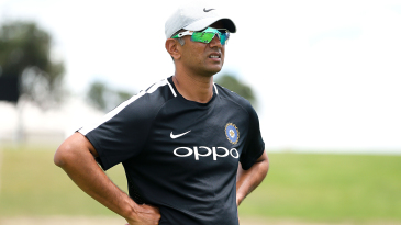 Much of Rahul Dravid's focus at the National Cricket Academy is to help players get their mental health issues addressed
