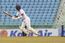 Kraigg Brathwaite works one on the leg side, Afghanistan v West Indies, only Test, Lucknow, 3rd day, November 29, 2019