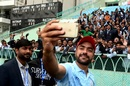 Rashid Khan takes a selfie with the fans, Afghanistan v West Indies, only Test, Lucknow, 3rd day, November 29, 2019