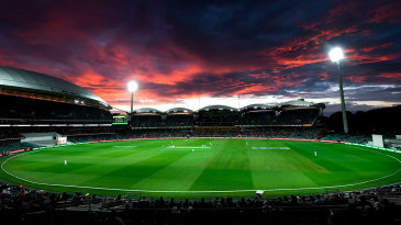 The view across Adelaide Oval