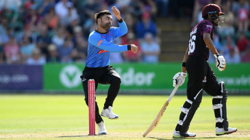 Rashid Khan has spent the past two T20 seasons at Sussex