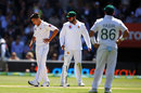 Muhammad Musa was denied his maiden Test wicket by a no-ball, Australia v Pakistan, 2nd Test, Adelaide, 1st day