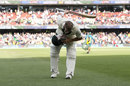 David Warner takes a bow as he leaves the field, Australia v Pakistan, 2nd Test, Adelaide, 2nd day, November 30, 2019