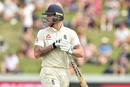 Ben Stokes walks off after being dismissed, New Zealand v England, 2nd Test, Hamilton, December 1, 2019