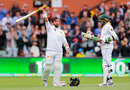 Yasir Shah celebrates his remarkable century, Australia v Pakistan, 2nd Test, Adelaide, December 1, 2019