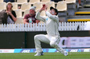 Henry Nicholls takes a catch to dismiss Joe Root, New Zealand v England, 2nd Test, Hamilton, December 02, 2019