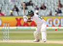 Asad Shafiq dances down the pitch, Australia v Pakistan, 2nd Test, Day 4, Adelaide, December 2, 2019