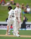 Ben Stokes shows his frustration, New Zealand v England, 2nd Test, Hamilton, December 03, 2019