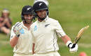 Kane Williamson and Ross Taylor beat the rain to record their centuries, New Zealand v England, 2nd Test, Hamilton, December 03, 2019