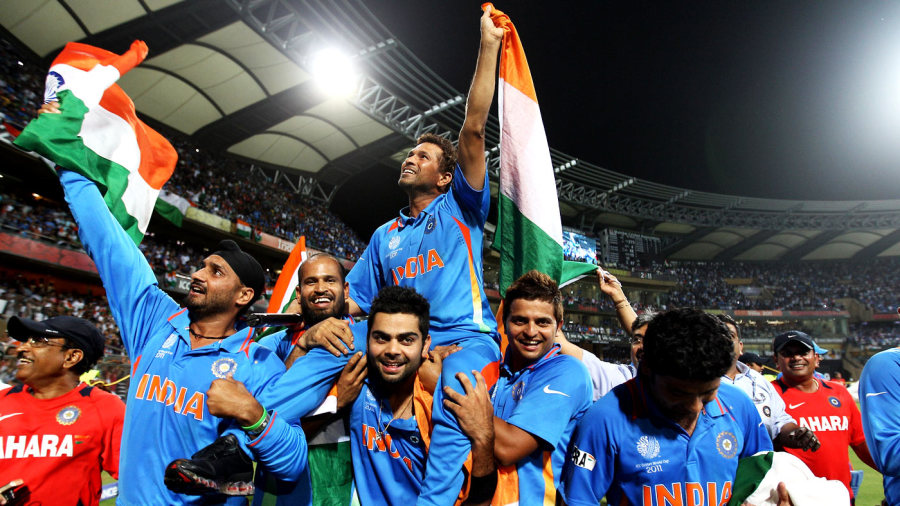 India reached the final of ICC tournaments four times in the decade and won twice