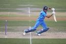 Priyam Garg plays a square drive, India A v England A, July 2019