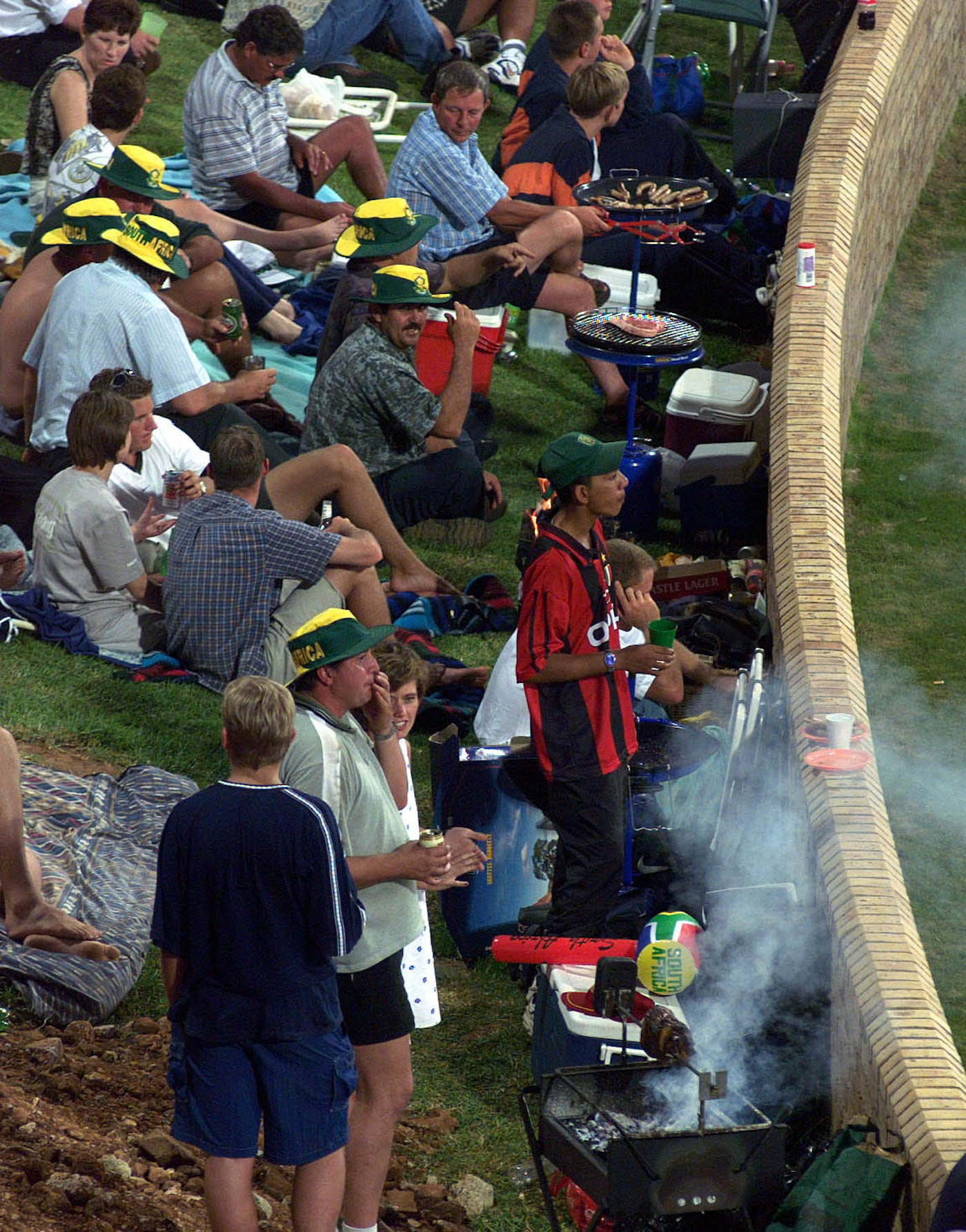 All that you can't leave behind: South African expats are recreating braai culture - an indispensable part of sport, and life - in England as a reminder of home