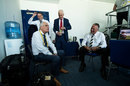 Sky commentators Bob Willis, Mike Atherton, David Gower and Ian Botham have a chat, England v West Indies, 1st Investec Test, Edgbaston, 2nd day, August 18, 2017