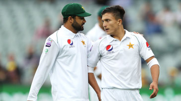 The inexperience of Pakistan's pace bowlers was compounded by poor on-field decisions by Azhar Ali
