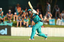 Maddy Green top-scored in the Brisbane Heat chase, Brisbane Heat v Melbourne Renegades, WBBL, 2nd semi-final, Allan Border Field, December 7, 2019