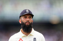 Moeen Ali during day four of the 1st Ashes Test at Edgbaston, 04 August 2019