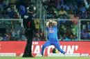 Washington Sundar drops a catch, India v West Indies, 2nd T20I, Thiruvananthapuram, December 8, 2019