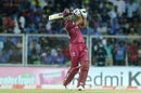Lendl Simmons goes over the top, India v West Indies, 2nd T20I, Thiruvananthapuram, December 8, 2019