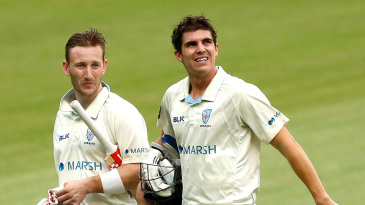Peter Nevill and Sean Abbott combined for an excellent partnership