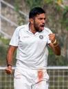 Puducherry's Sagar Udeshi picked up six wickets in Bihar's first innings, Bihar v Puducherry, Ranji Trophy 2019-20, 1st day, Patna, December 9, 2019