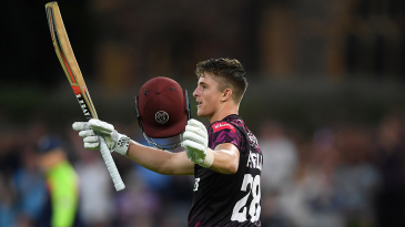 Tom Abell hit a maiden T20 hundred against Middlesex in August