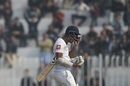 Dimuth Karunaratne walks back after his dismissal, Pakistan v Sri Lanka, 1st Test, Rawalpindi, Day 1