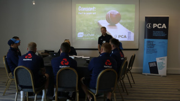 Professional cricketers in England and Wales have taken part in sexual consent workshops