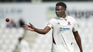 Blessing Muzarabani signed a three-year deal with Northants last year