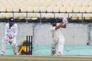 Ankush Bains drives down the ground, Himachal Pradesh v Saurashtra, Ranji Trophy, Dharamsala, December 10, 2019