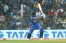 Virat Kohli slaps one away through point, India v West Indies, 3rd T20I, Mumbai, December 11, 2019