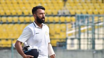 Cheteshwar Pujara failed to get going