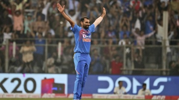Mohammed Shami made a successful return to T20Is