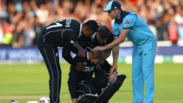 The agony and the ecstasy: an inconsolable New Zealand, a disbelieving but triumphant England, a match for the ages
