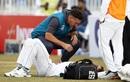 Shaheen Shah Afridi is treated by the team physio, Pakistan v Sri Lanka, 1st Test, Rawalpindi, Day 1