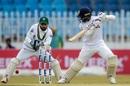 Dhananjaya de Silva goes back to cut against spin, Pakistan v Sri Lanka, 1st Test, Rawalpindi, Day 2