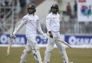 Dhananjaya de Silva and Dilruwan Perera walk off, Pakistan v Sri Lanka, 1st Test, Rawalpindi, Day 2