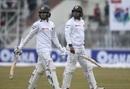 Dhananjaya de Silva and Dilruwan Perera walk off, Pakistan v Sri Lanka, 1st Test, Rawalpindi, Day 2