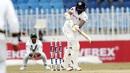 Niroshan Dickwella plays one through the leg side, Pakistan v Sri Lanka, 1st Test, Rawalpindi, Day 2
