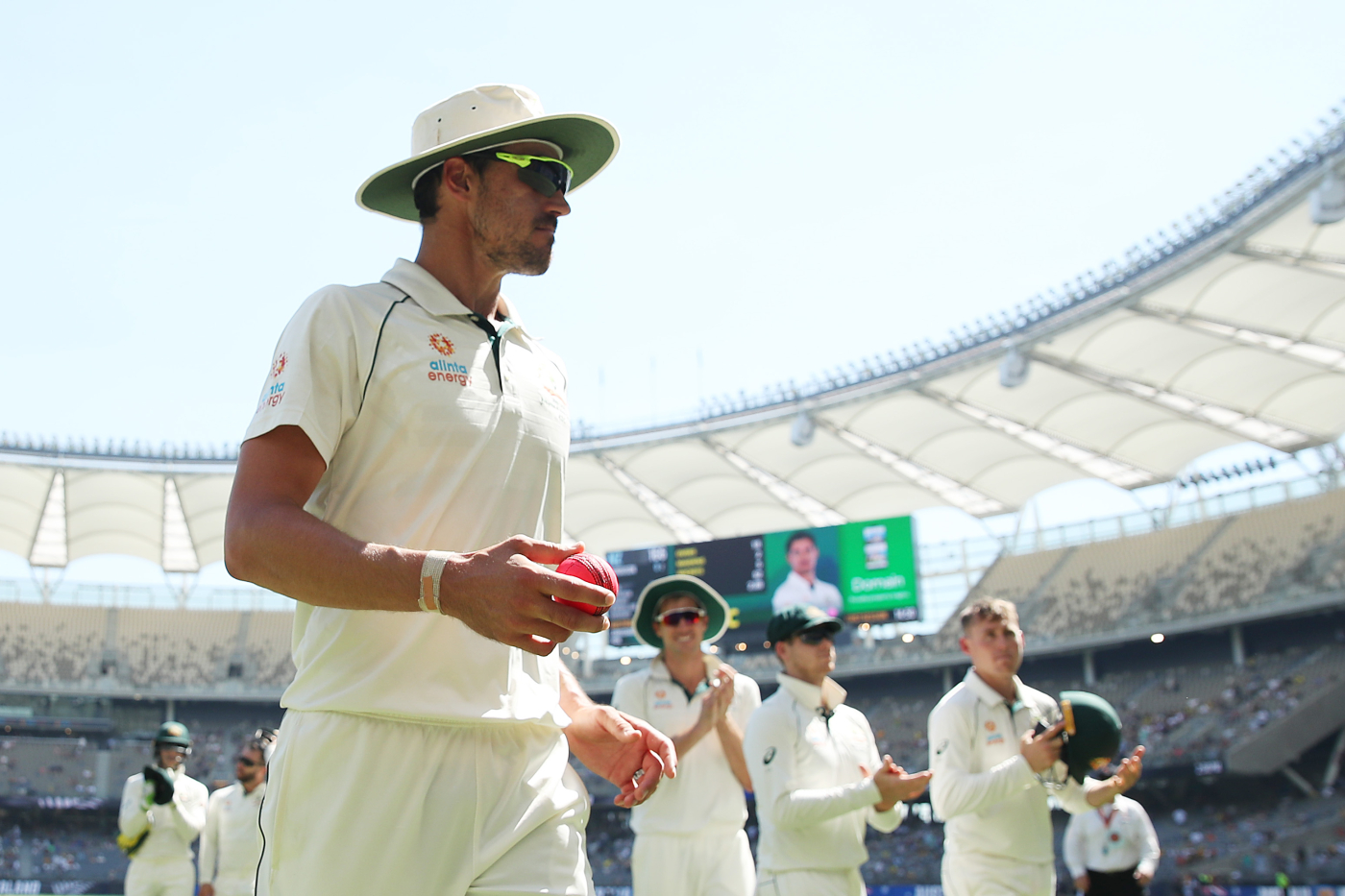Lethal weapon: since the start of 2019, Starc has taken 46 wickets in 17 Test innings at a strike rate of 37.4 and an average of 20.69