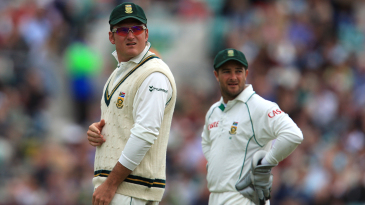 Graeme Smith and Mark Boucher played 257 international games alongside each other for South Africa